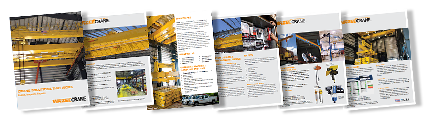 Wazee Crane Brochure Downloads